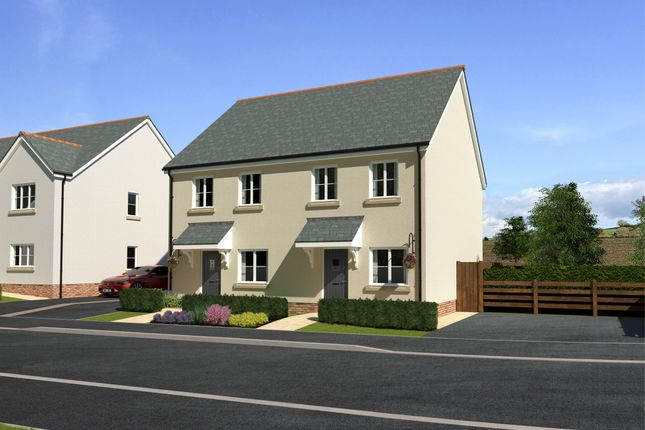 2 bed semi-detached house for sale in Plot 2, Fishers Field, Halberton, Tiverton EX16