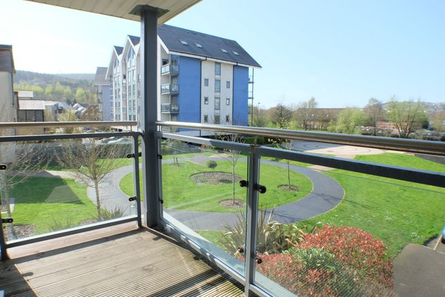 Thumbnail Flat to rent in Phoebe Road, Copper Quarter, Swansea