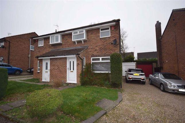 Thumbnail Semi-detached house to rent in Boughton Drive, Swanwick, Alfreton
