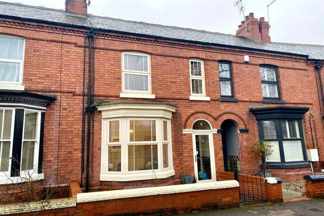 Thumbnail Terraced house for sale in The Crescent, Nantwich