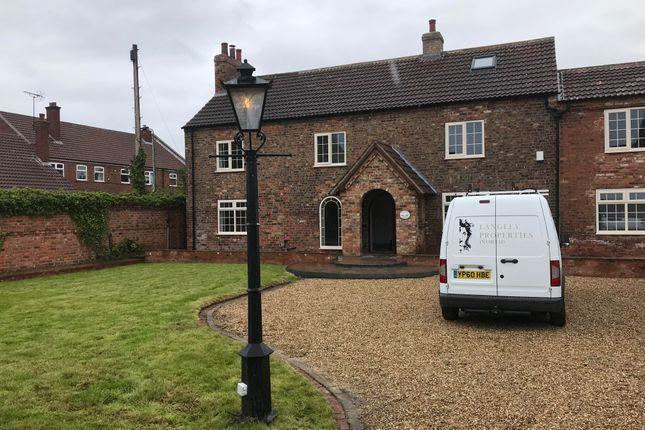 Thumbnail Detached house to rent in Pinfold Hill, Wistow, Selby