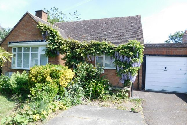 Thumbnail Detached bungalow for sale in Meadow Way, Stotfold, Hitchin