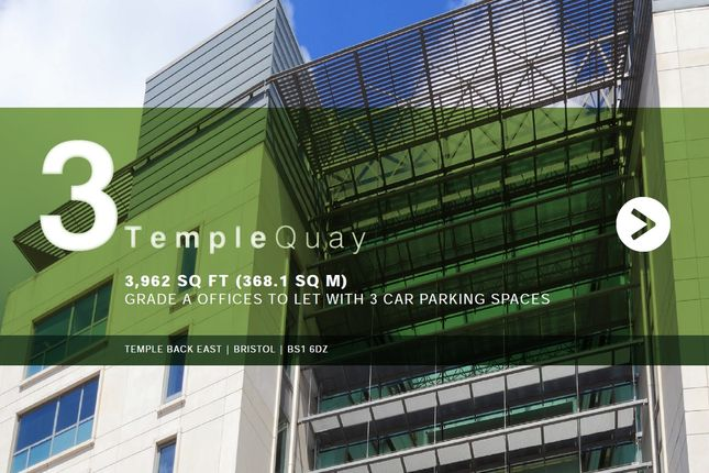 Thumbnail Office to let in Temple Back East, Bristol