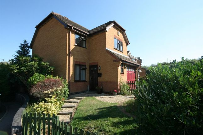 Thumbnail Detached house for sale in Harcourt Way, Hunsbury Hill, Northampton