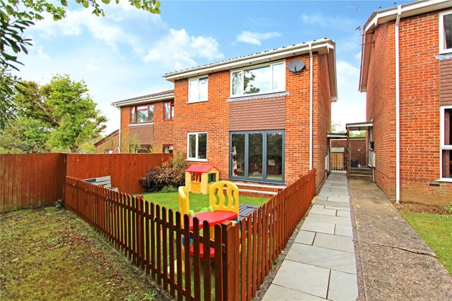 Thumbnail Semi-detached house for sale in Fernside Walk, Fair Oak, Eastleigh