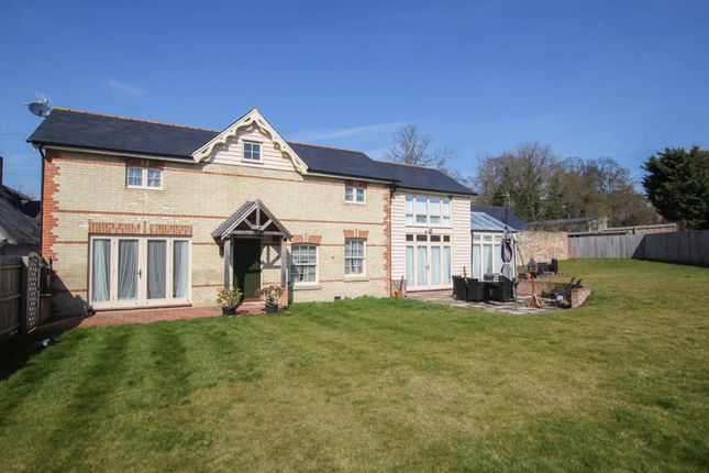 Thumbnail Detached house for sale in Walden Road, Little Chesterford, Saffron Walden