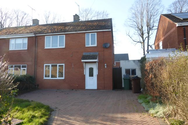 Thumbnail Semi-detached house for sale in Willow Brook Road, Corby