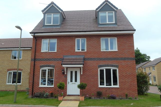 Thumbnail Detached house for sale in Talbot Close, Harwell, Didcot