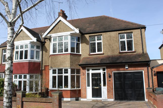 Thumbnail Semi-detached house for sale in Forest Drive, Woodford Green