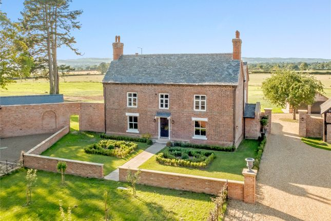 Thumbnail Detached house for sale in Old Rectory Gardens, West Felton, Oswestry, Shropshire