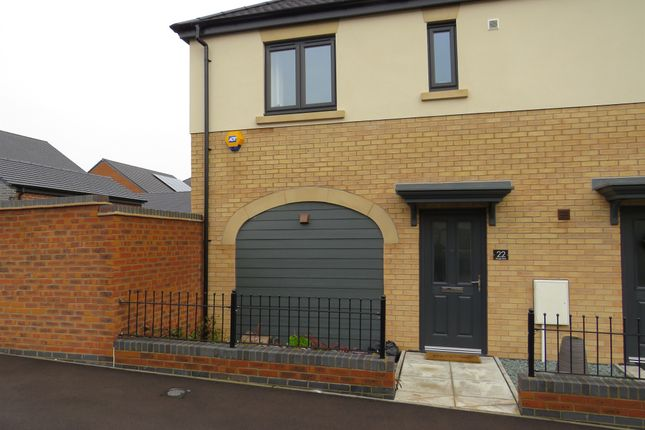 Thumbnail Semi-detached house for sale in Slough Close, Corby