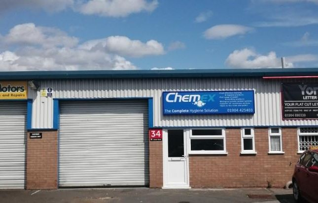 Light industrial to let in Unit 34, Auster Road/Kettlestring Lane, Clifton Moor Industrial Estate, York, North Yorkshire