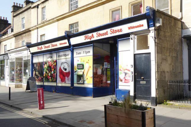 Thumbnail Retail premises for sale in Claverton Buildings, Bath