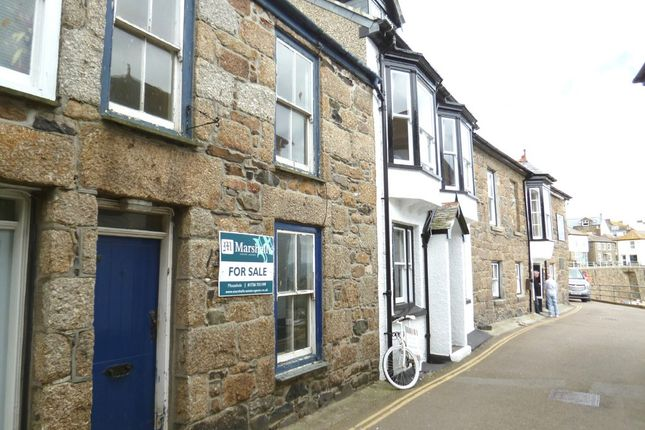 Thumbnail Terraced house for sale in South Cliff, Mousehole, Penzance