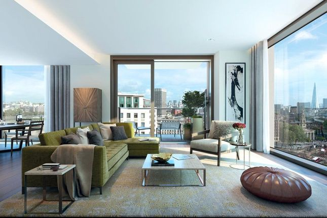 Thumbnail Flat for sale in Casson Square, Southbank Place, London