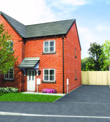 Thumbnail Semi-detached house for sale in Plot 7 Old Hall Fields, Mill Lane, Wellington
