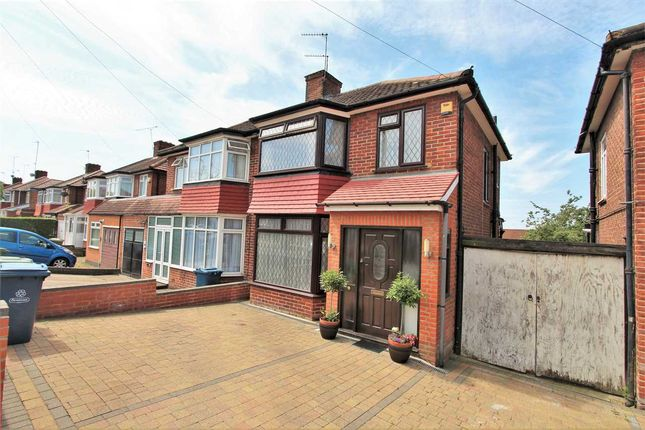 Thumbnail Semi-detached house for sale in Thistlecroft Gardens, Stanmore