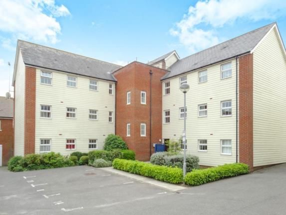 Thumbnail Flat for sale in Baker Way, Witham