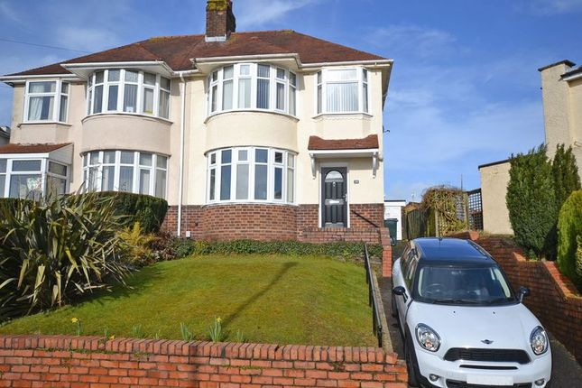 Thumbnail Semi-detached house for sale in Stunning Extended House, Ridgeway Avenue, Newport
