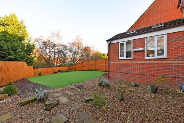 Garden of Stockarth Place, Oughtibridge, Sheffield S35