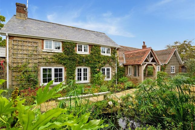 Thumbnail Detached house for sale in Hamstead Drive, Ningwood, Newport, Isle Of Wight