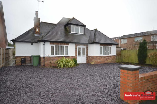 Thumbnail Detached bungalow to rent in Dawpool Farm, Station Road, Thurstaston, Wirral