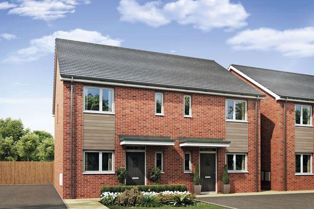 Thumbnail Semi-detached house for sale in Burton Road, Castle Gresley, Swadlincote
