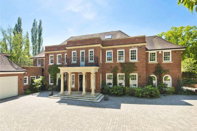 Thumbnail Detached house for sale in Rabbit Lane, Burhill, Walton-On-Thames, Surrey