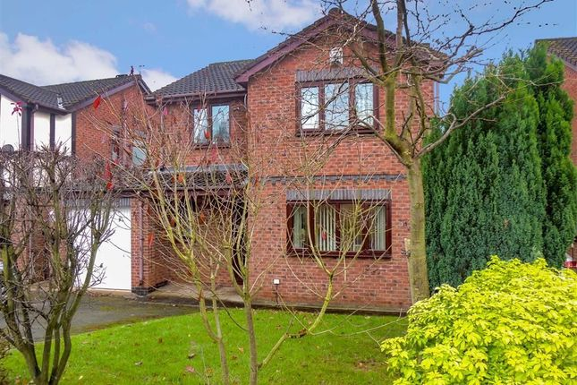 Thumbnail Detached house for sale in Werneth Hollow, Woodley, Stockport