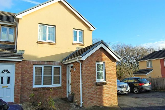 Thumbnail Terraced house for sale in Fforest Fach, Tycroes, Ammanford