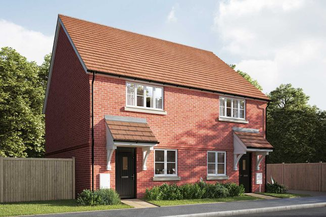 """Thumbnail Semi-detached house for sale in """"The Cartwright"""" at Mill Road, Hailsham"""