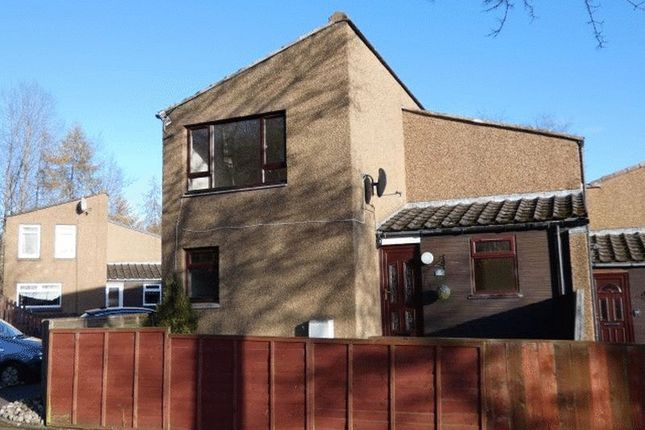 Thumbnail End terrace house to rent in Julian Road, Glenrothes, Fife