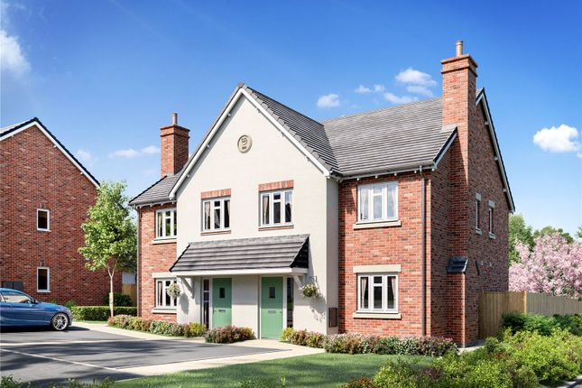 Thumbnail Semi-detached house for sale in The Orchards Worcester Road, Upton Snodsbury, Worcester