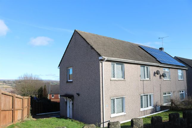 Thumbnail Semi-detached house for sale in Hill View, Pontllanfraith, Blackwood
