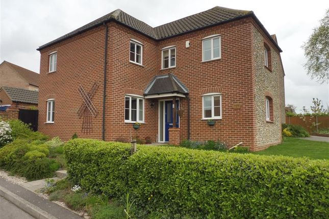 Thumbnail Detached house for sale in John Franklin Way, Erpingham, Norwich