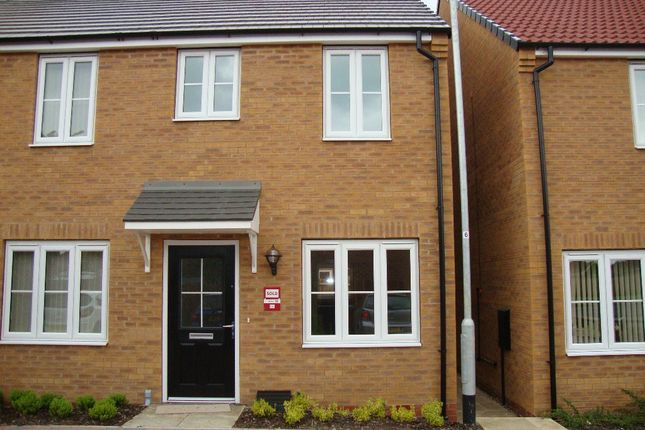 Thumbnail Semi-detached house to rent in James Major Court, Cleethorpes
