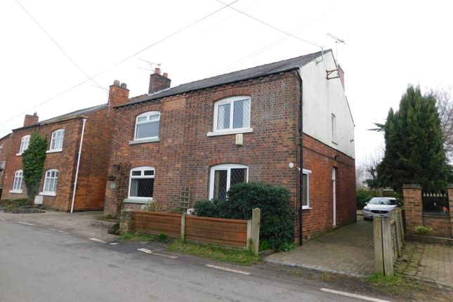 Thumbnail Semi-detached house for sale in Gresty Lane, Shavington, Crewe
