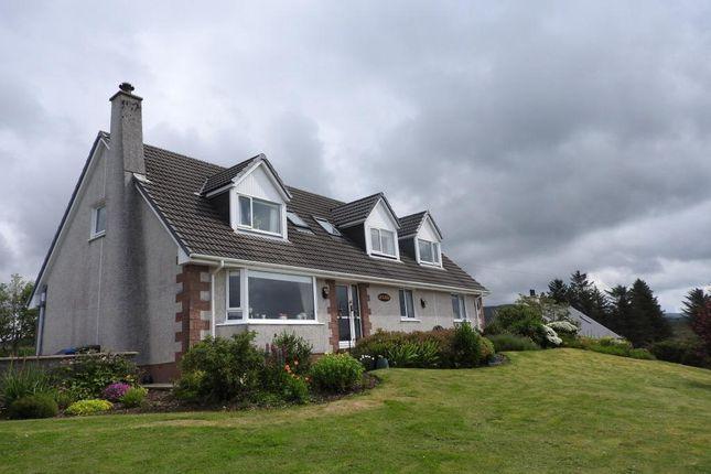 Thumbnail Detached house for sale in 5 Carbost, Skeabost Bridge, Isle Of Skye