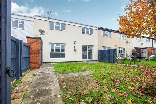 Thumbnail Terraced house for sale in Shackleton Close, St. Athan, Barry