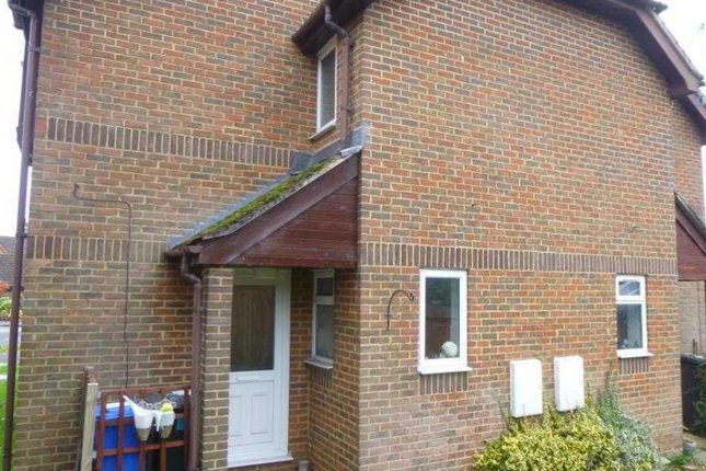 Thumbnail End terrace house to rent in Barn Meadow Close, Fleet