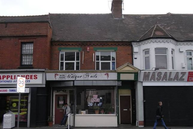 Thumbnail Commercial property for sale in 64 Queens Road, Nuneaton, Warwickshire