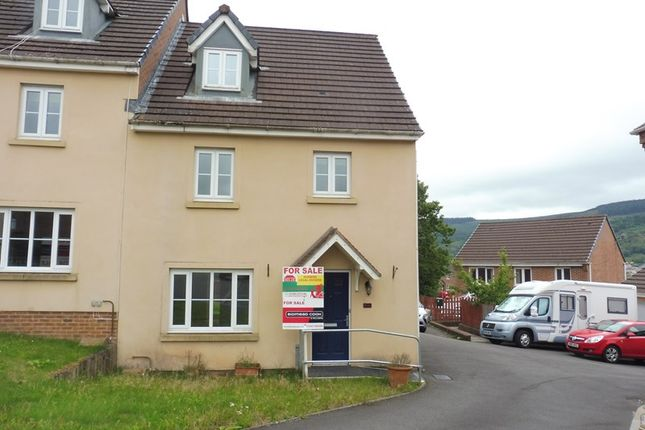 Thumbnail Semi-detached house for sale in Glas Y Gors, Cwmbach, Aberdare