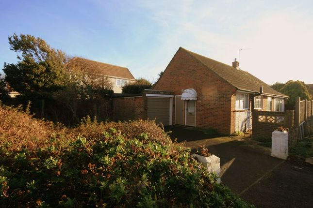 Thumbnail Detached bungalow for sale in The Bridgeway, Selsey, Chichester