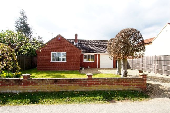 Thumbnail Detached bungalow for sale in High Street, Wicklewood, Wymondham