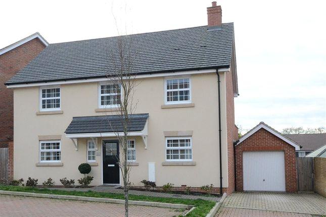 Thumbnail Detached house for sale in Cook Avenue, Church Crookham, Fleet