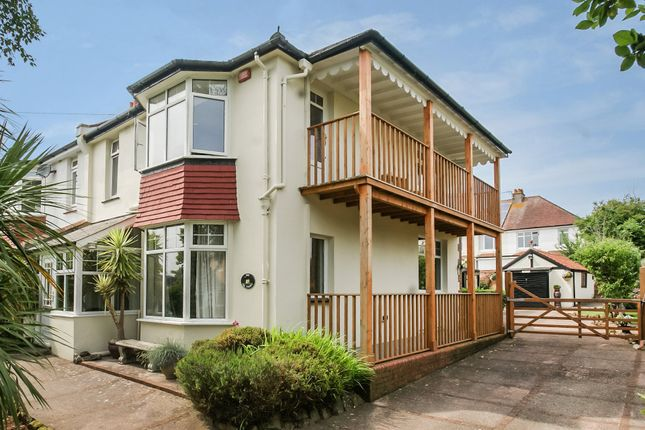 Thumbnail Semi-detached house for sale in Headland Grove, Paignton