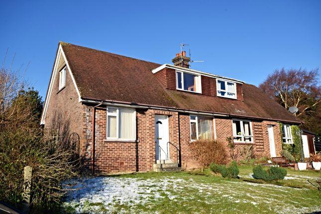 Thumbnail Semi-detached bungalow for sale in Merrick Crescent, Minishant, South Ayrshire