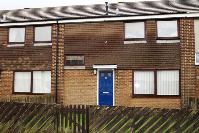 Thumbnail Terraced house to rent in Glendale, Amble, Morpeth