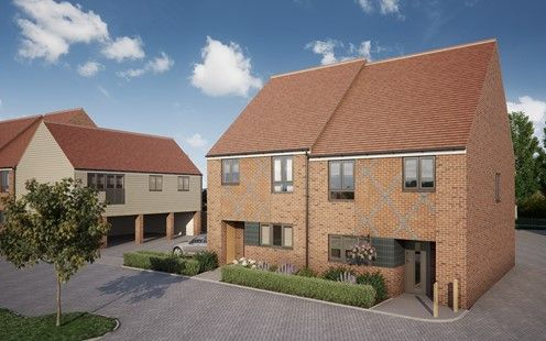 Thumbnail Semi-detached house for sale in Pilots View, Chatham, Kent