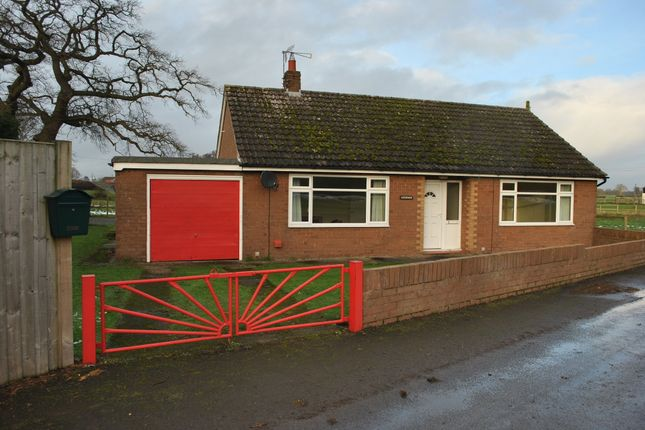Thumbnail Detached bungalow to rent in Weston, Shrewsbury
